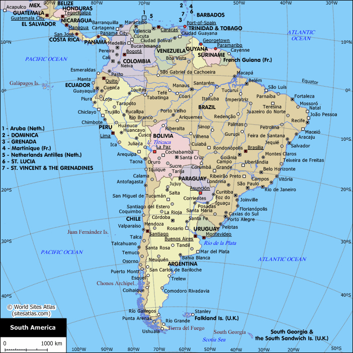 World maps of south america gidiyedformapolitica world gumiabroncs Choice Image