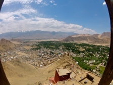 View from the Leh Monastery
