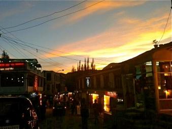 Sun Set View in Leh, Ladakh
