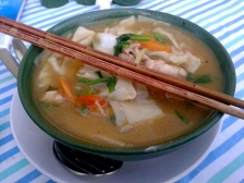 "Tibeten ""Thentuk"" - Noodle Soup"