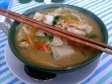 """Tibeten """"Thentuk"""" - Noodle Soup"""