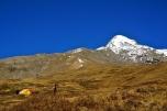 Base Camp and Pisang Peak Summit Pyramid