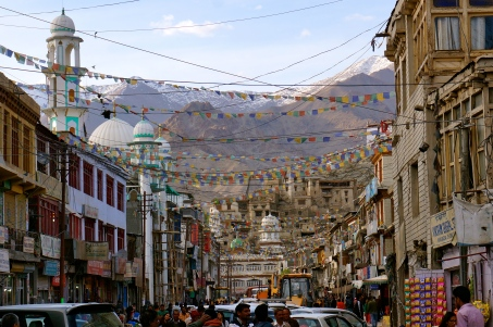 The Beautiful Town of Leh in Ladakh, India