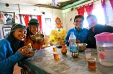 The team at Khadung la Pass.