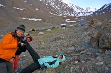 Nadya and Leg Camps.